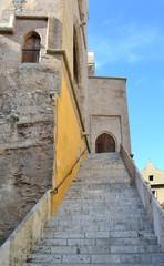 Valencia - scalinata della Torres de Quart