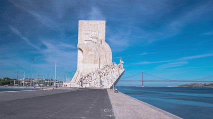 Monument to the Discoveries celebrates the Portuguese who took