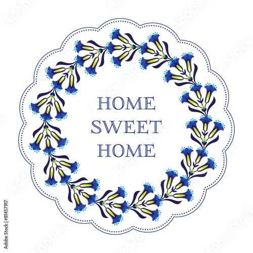 Fototapeta Home sweet home decoration
