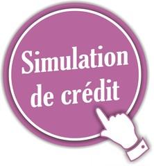 bouton simulation de crédit