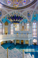 RUSSIA, KAZAN - 1 DECEMBER  2014: Interior of one of the greates