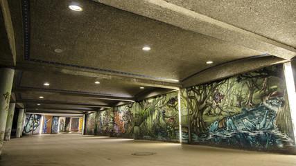 Graffity Unterführung