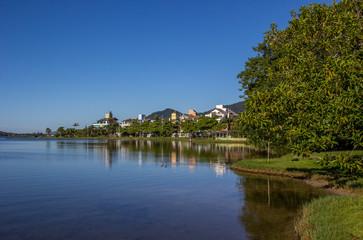 Beira da lagoa