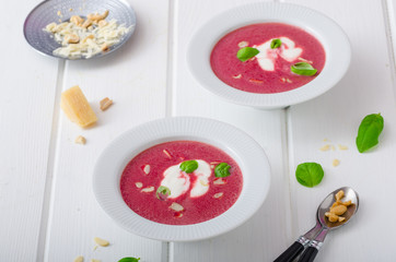 Soup from beet