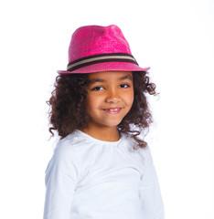 Little mulatto girl