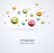 Vitamins and Minerals - 81465579