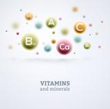 Vitamins and Minerals - 81465579