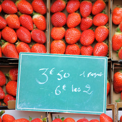Sweet fresh strawberry for sale
