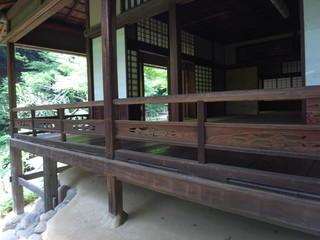日本家屋の縁側 三渓園