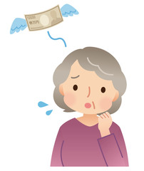 シニア女性 お金 出費