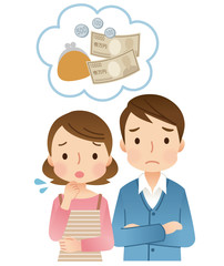 若い夫婦 お金の心配