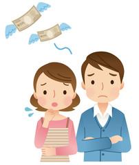 若い夫婦 お金 出費