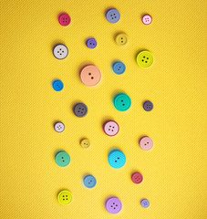 Colorful Sewing Buttons
