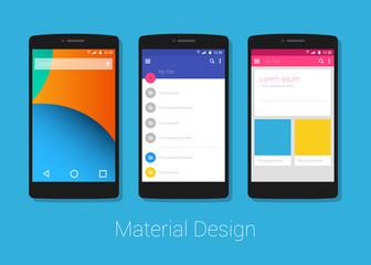 material design phone