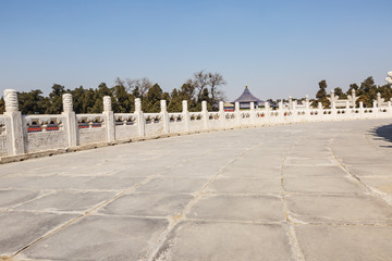 temple of heaven channel in Beijing, China