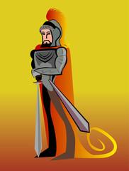 Caballero con espada