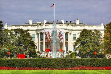 Halloween Fall Decorations White House Washington DC