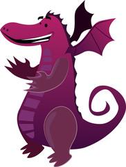 Ilustración de vector de dinosaurio