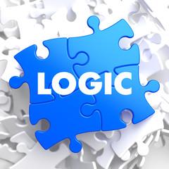Logic on Blue Puzzle.