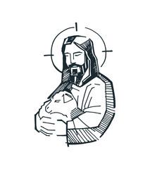 Jesus Good Shepherd g