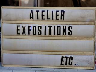 Atelier expositions
