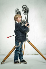 Boy and cinema
