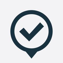 ok icon map pin