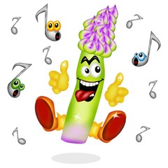 asparago musica rock