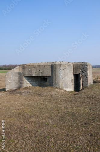 bunker in Poland
