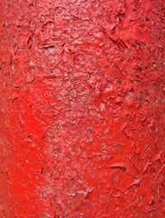 grunge peeling red paint backdrop