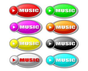 music buton