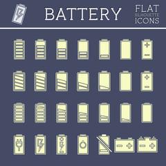 Battery Icons Set