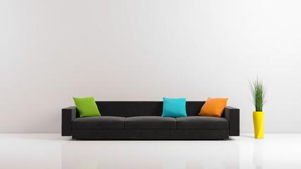 Same sofa, different colors