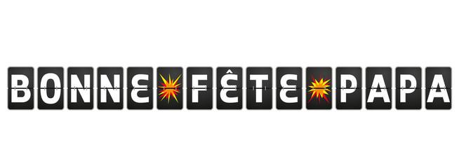 FETE DES PÈRES aéroport VECTEURS 3