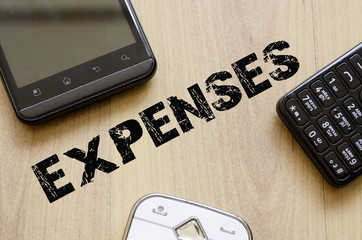 Expenses Concept