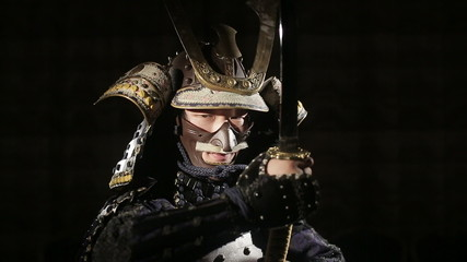 the approximation of the samurai out of the darkness