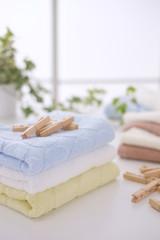 タオルと洗濯ばさみ