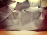Fototapety geometric wall