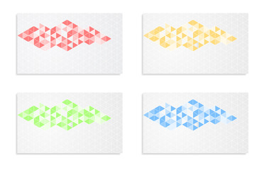 mosaic abstract background banner card