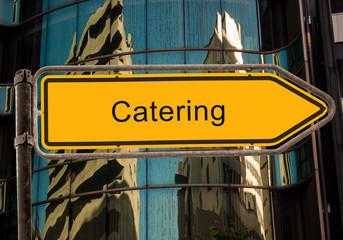 Strassenschild 42 - Catering