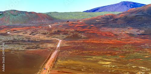 Papiers peints Volcan Plaine des Sables, Piton de la Fournaise, Réunion