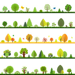 Trees Borders