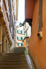 Romantische Gasse in Tübingen