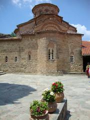 Греческий храм в Метеорах