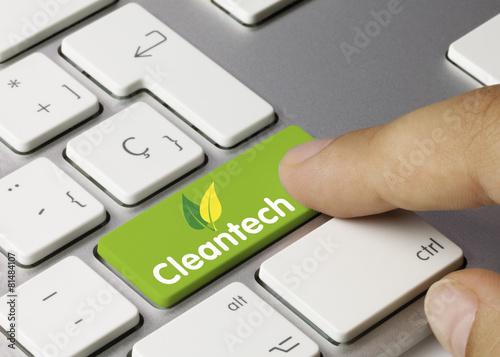 Leinwandbild Motiv Cleantech