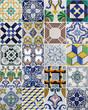 Leinwanddruck Bild - azulejos lisboa portugal oporto