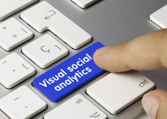 Visual social analytics