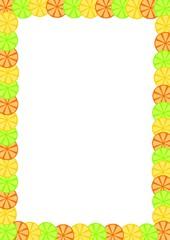 Fruit Slice Frame