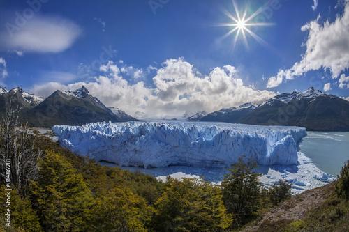 Tuinposter Gletsjers Perito Moreno Glacier - Patagonia - Argentina