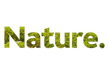 scritta, natura, biologico, bio,